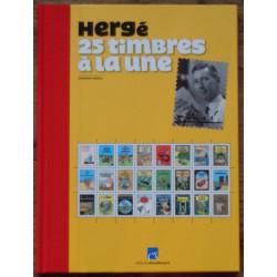 Tintin - 25 Timbres à la...