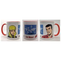 Bob Morane - Set de 2 mugs...
